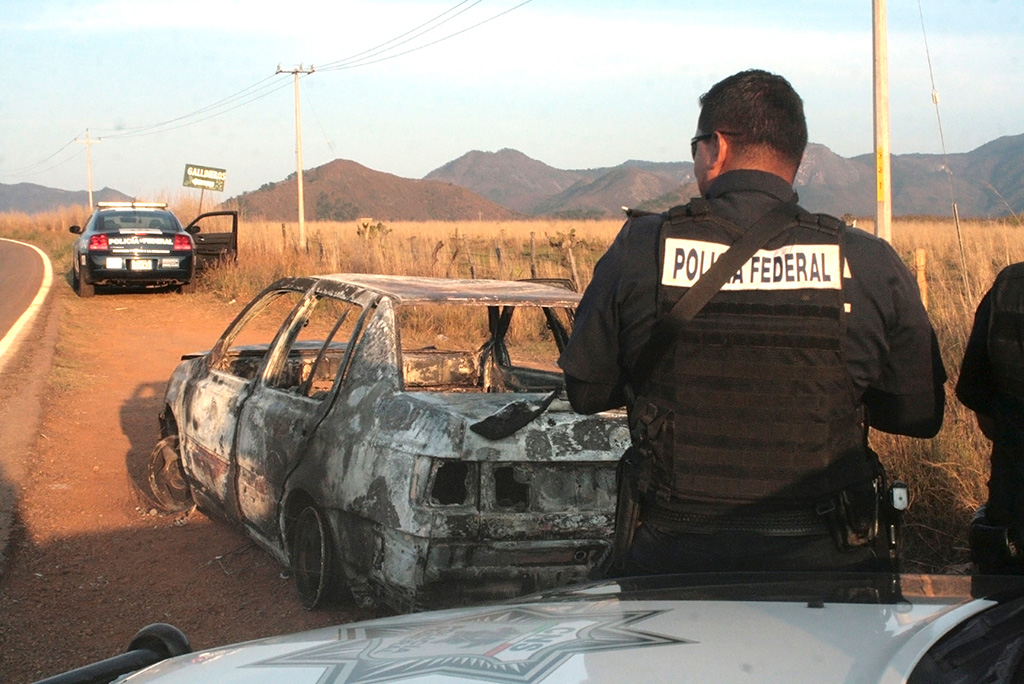 Cartel mexicano embosca  y da muerte a 15 policías
