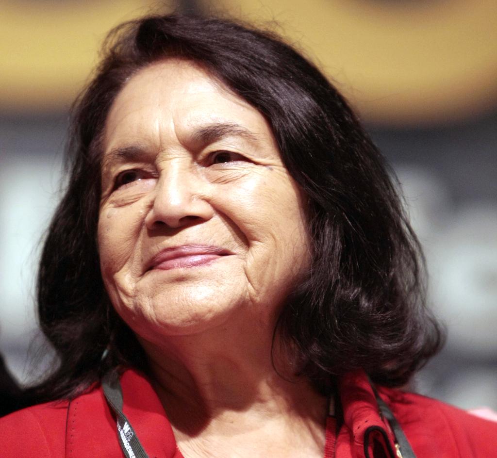 Muestra de Dolores Huerta a Galería de Retratos