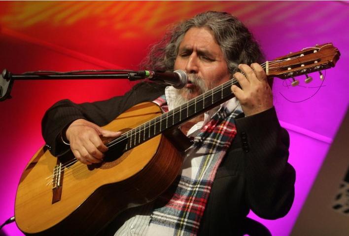 Manuelcha Prado, primer artista andino reconocido en la OEA