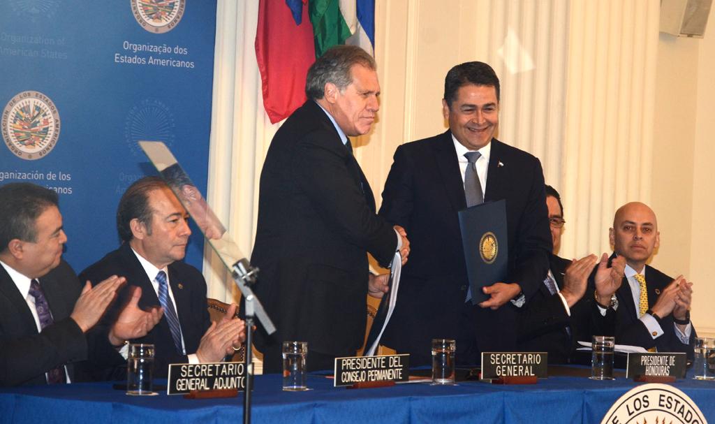 Honduras y OEA se vuelcan contra la corrupción