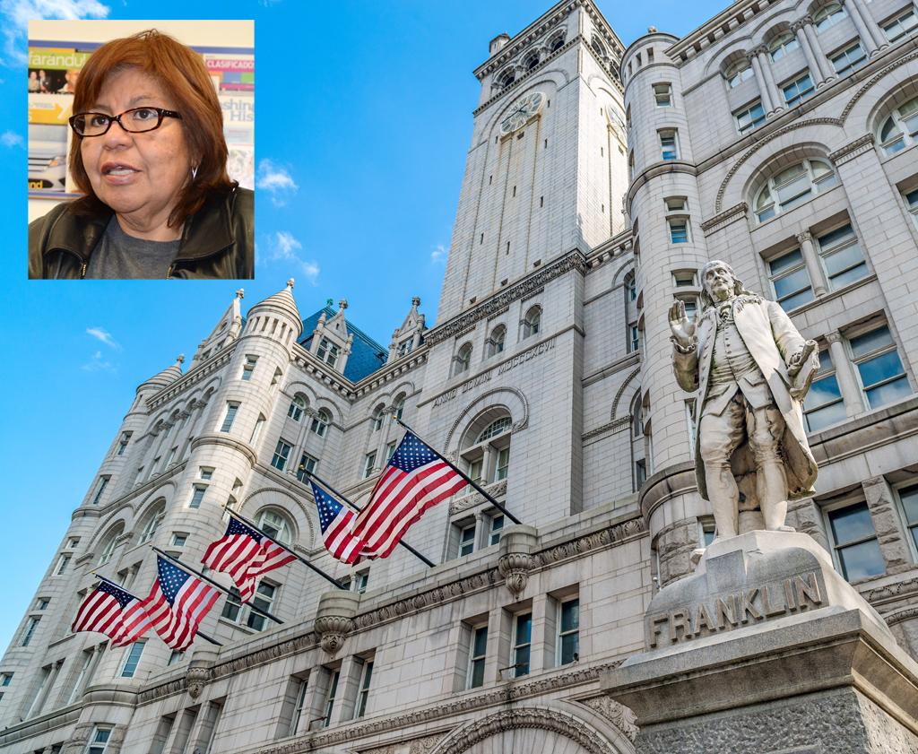 Trump Hotel mueve la ubicación de Fiesta DC