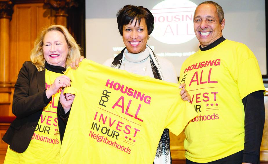 Muriel Bowser: No más familias sin hogar en DC