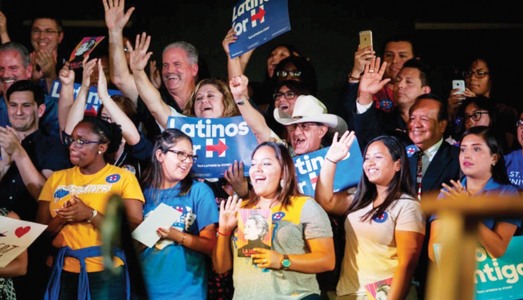 ¡Latinos con Hillary!