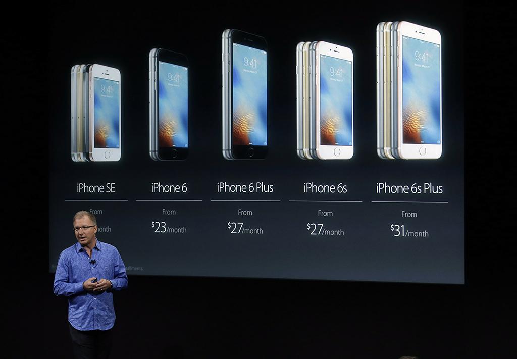 Apple lanza el iPhone SE, más pequeño, y nuevo iPad