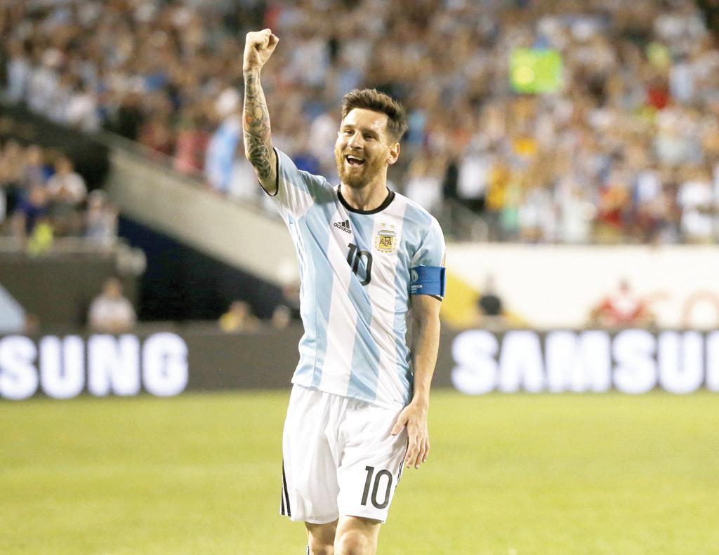 Messi, la esperanza albiceleste