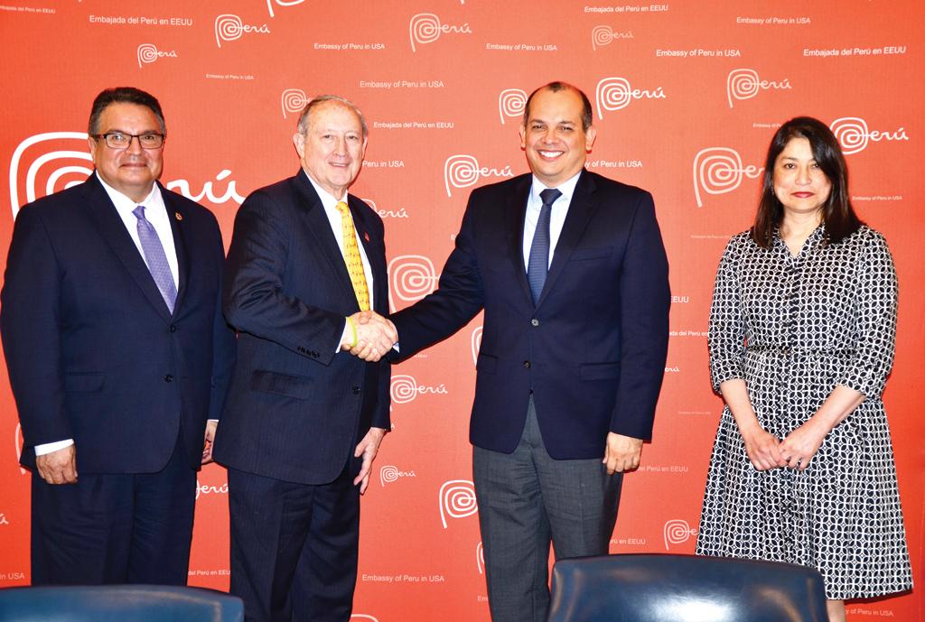 MD y Perú buscan hermanamiento