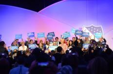 Hillary Clinton pide el voto latino en conferencia de LULAC. (Foto: Alvaro Ortiz / Washington Hispanic)