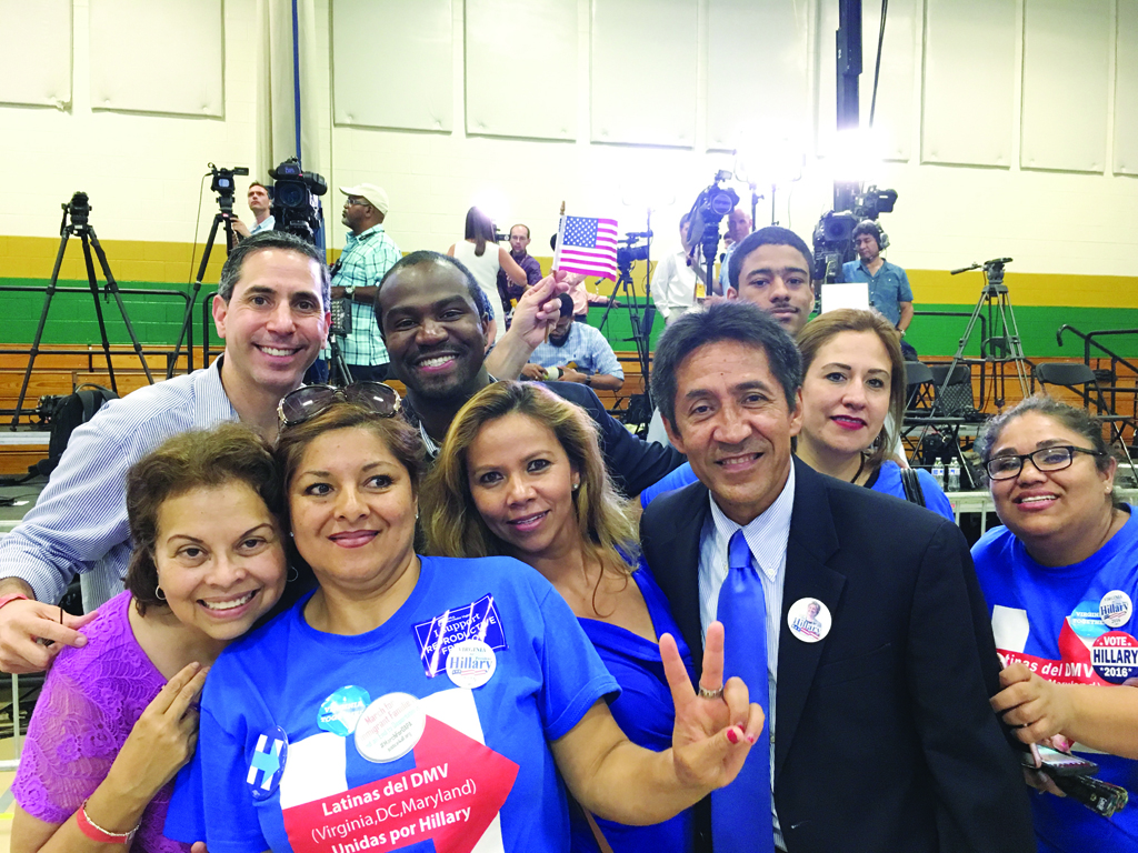 Líderes Latinos de Virginia  respaldan a Hillary Clinton