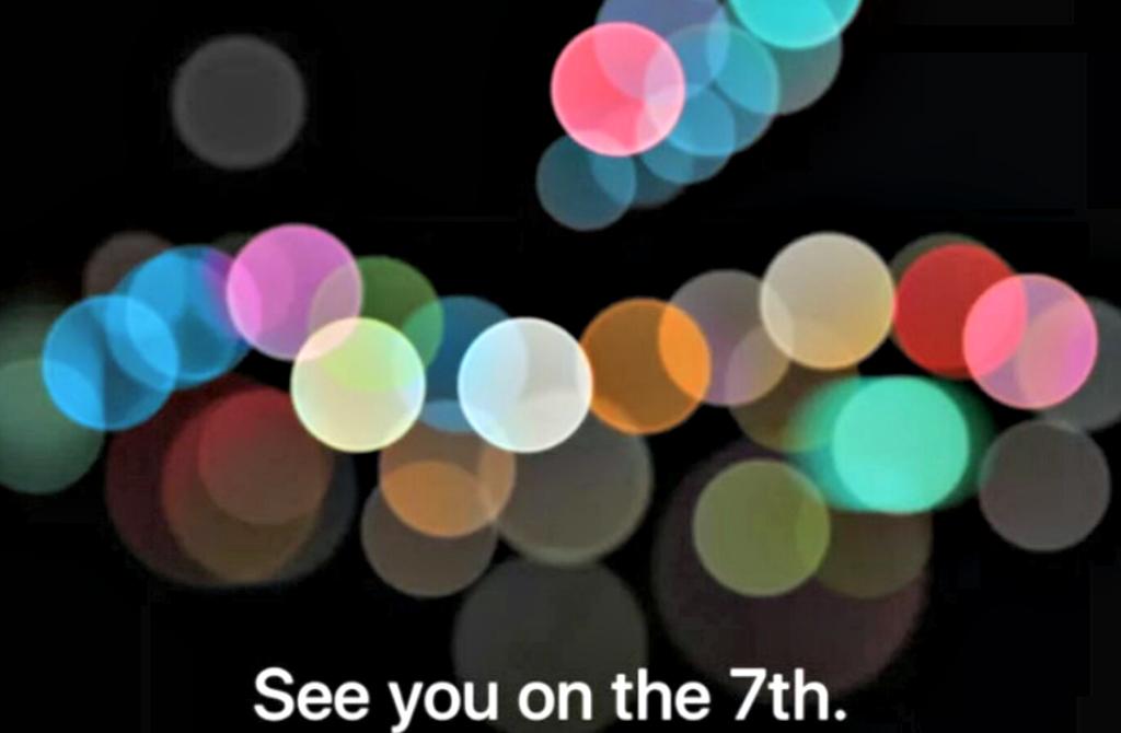 Es oficial: Apple presentará el iPhone 7 el 7 de septiembre