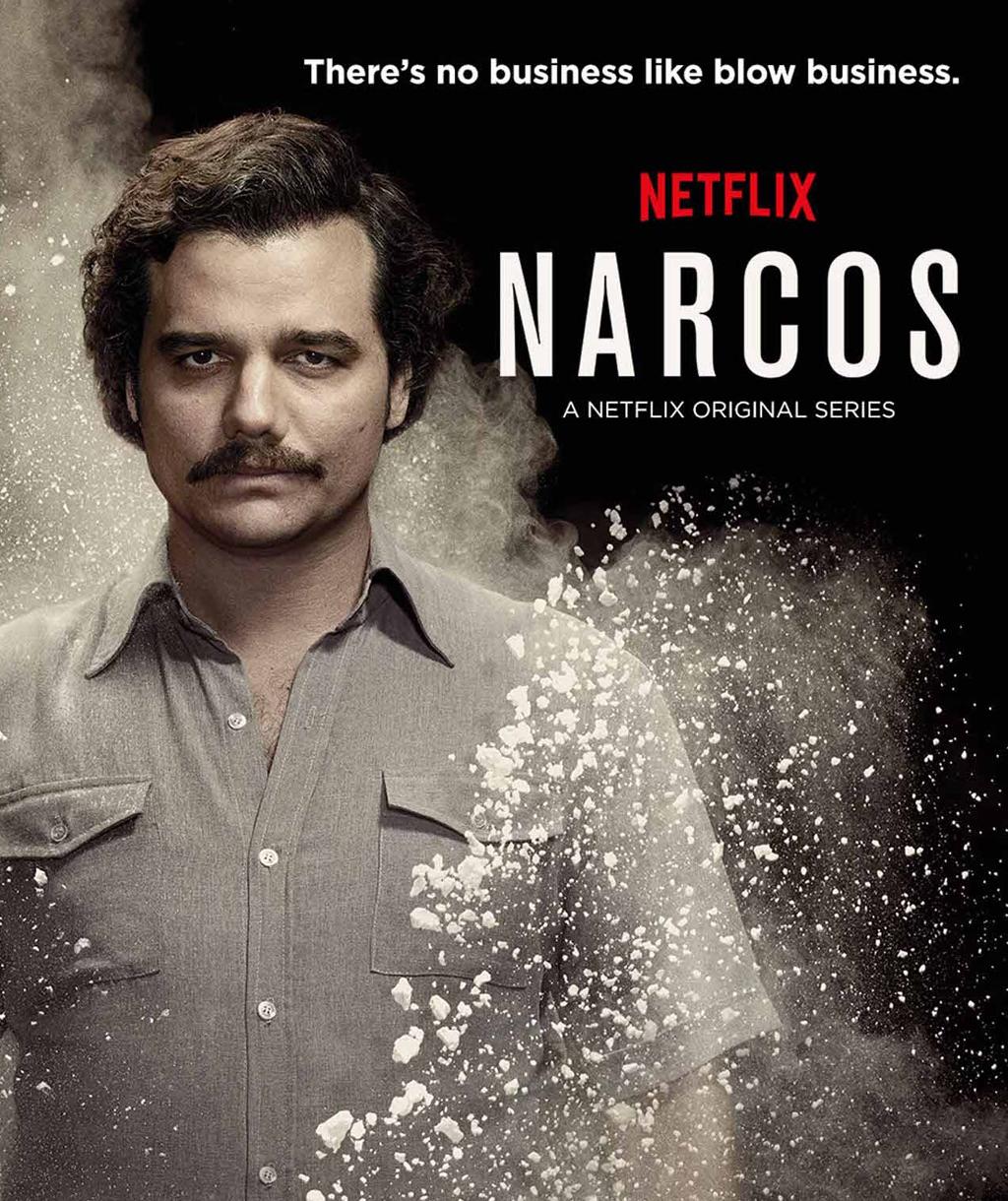 """Hijo de Pablo Escobar  molesto por serie """"Narcos"""""""