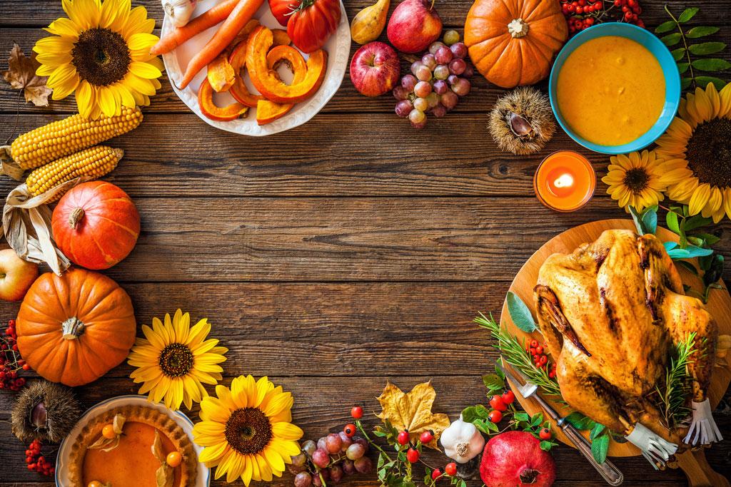 En el Día de  Acción de Gracias