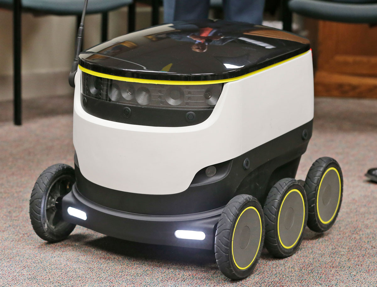 Robots harán 'delivery' en Virginia