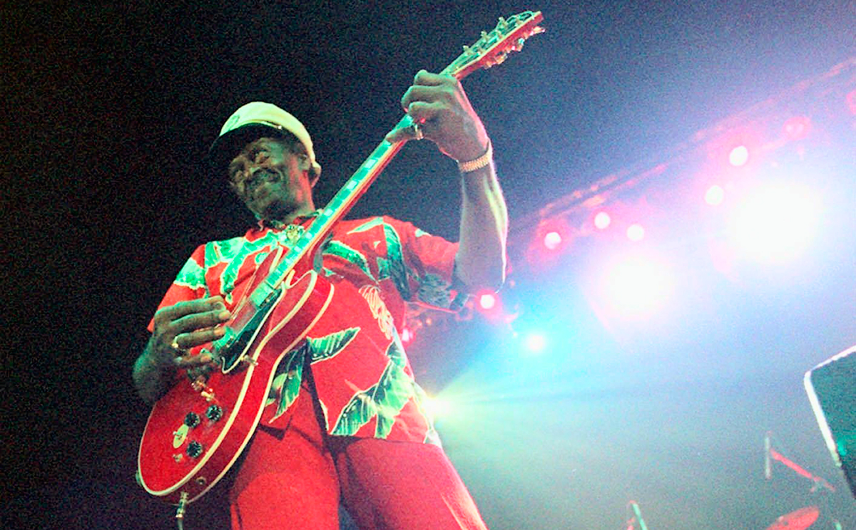 Fallece la leyenda del rock 'n' roll Chuck Berry