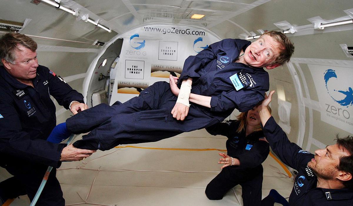 ¿Hawking al espacio?: 'Es lo que me va a hacer feliz'