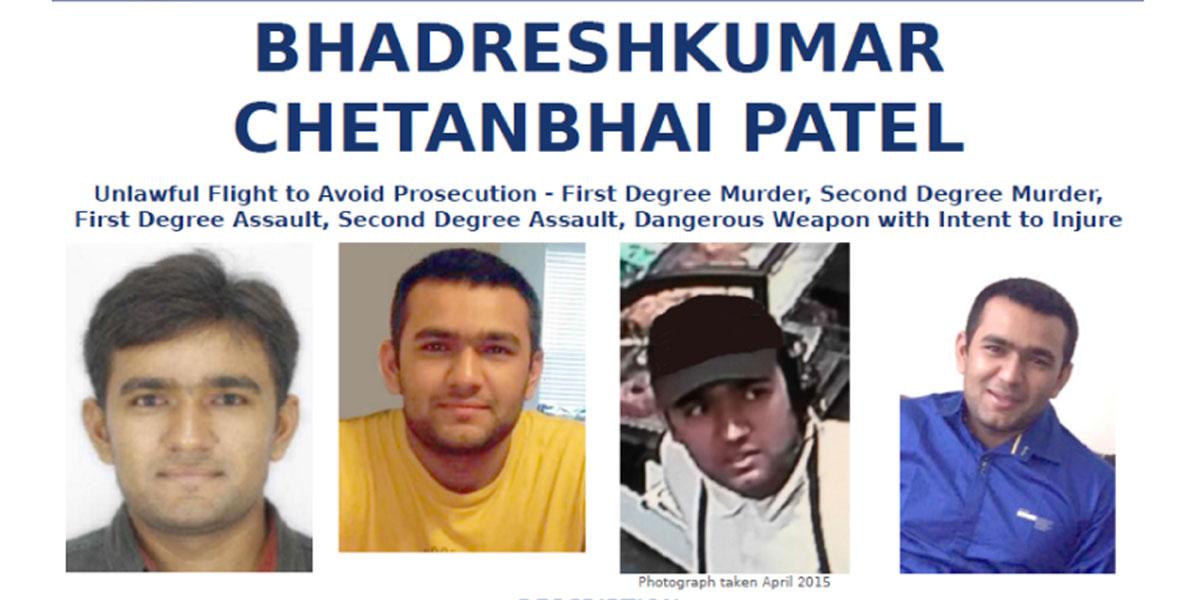 FBI busca a Bhadreshkumar C. Patel