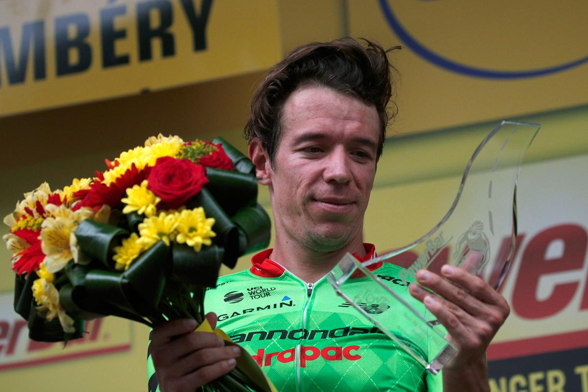 Rigo Urán vencedor en la etapa reina del Tour