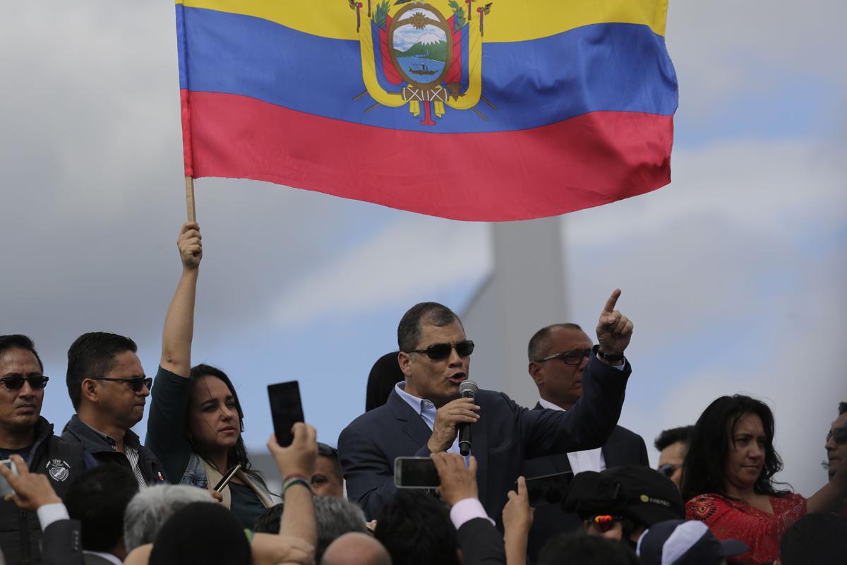 Expresidente Rafael Correa deja Ecuador para radicarse en Bélgica por tiempo indefinido