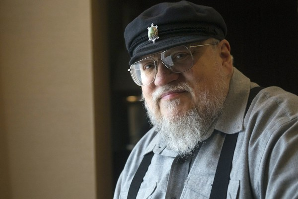 FILE - In this March 12, 2012 file photo, George R.R. Martin, author of the popular book series