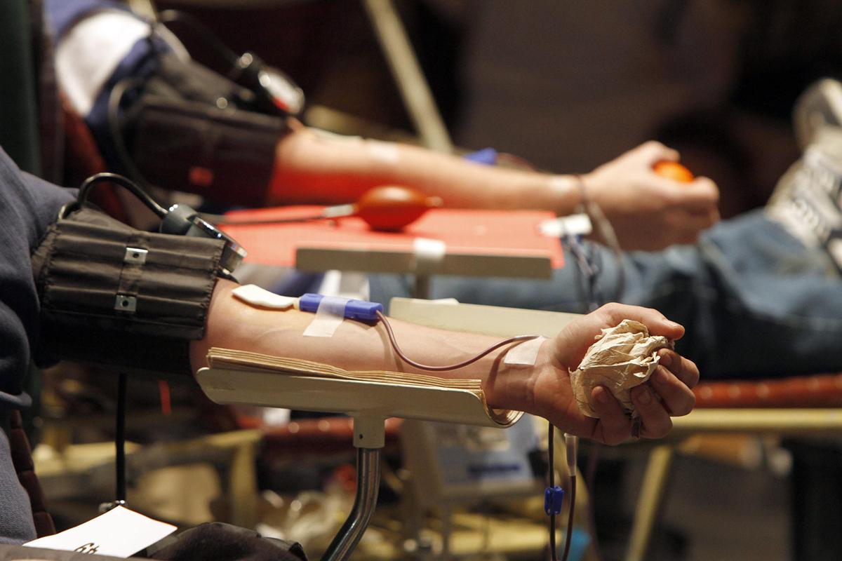 Donación de sangre disminuyen