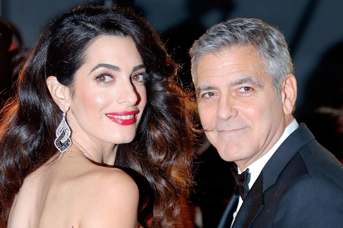 Clooney se querella contra revista francesa que publicó fotos de sus gemelos
