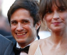 FILE - In this May 23, 2017 file photo, actor Gael Garcia Bernal poses for photographers upon arrival at the 70th anniversary of the film festival, Cannes, southern France. The Hispanic Heritage Foundation announced today Garc'a Bernal will receive the Vision Award at the 30th Annual Hispanic Heritage Awards, which will take place on Sept. 14, at the Warner Theatre in Washington, DC. (AP Photo/Alastair Grant, File)