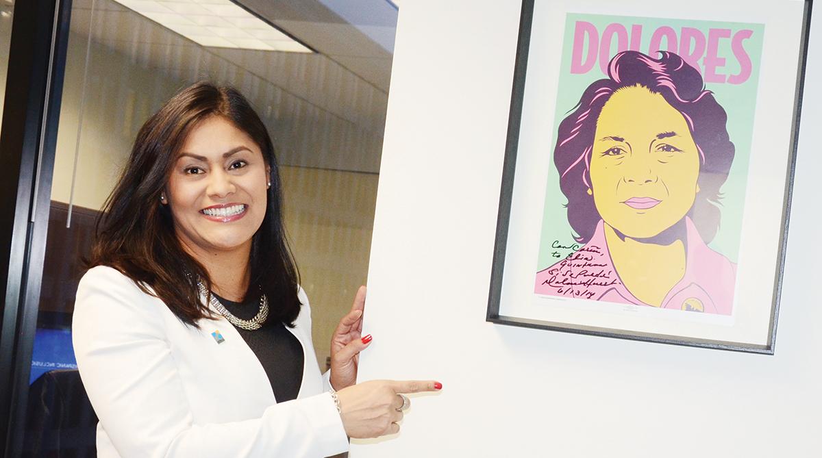 Vota por Elia Quintana, una  apasionada por la comunidad
