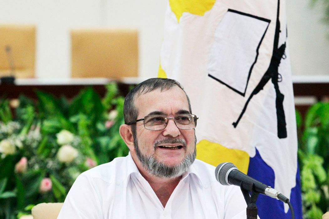 Jefe máximo de FARC presidirá congreso del nuevo partido en Bogotá