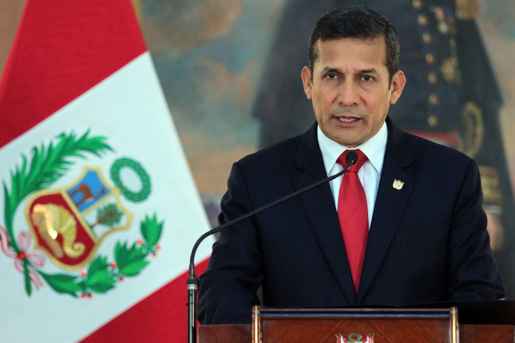 HRW pide investigar a expresidente Humala por violar DDHH