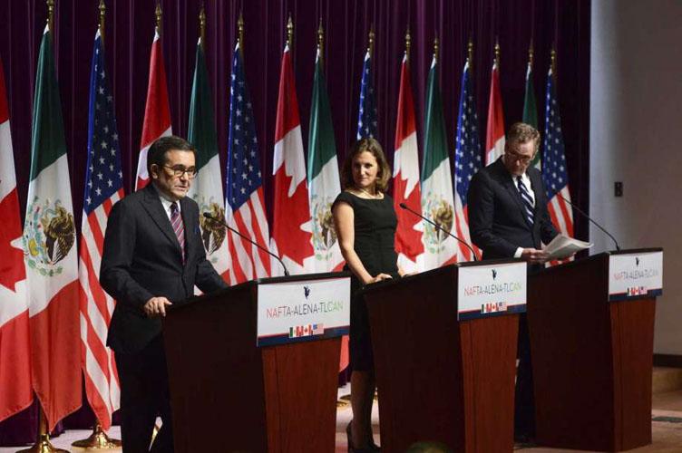 Concluye en Canadá tercera ronda de negociaciones del TLCAN