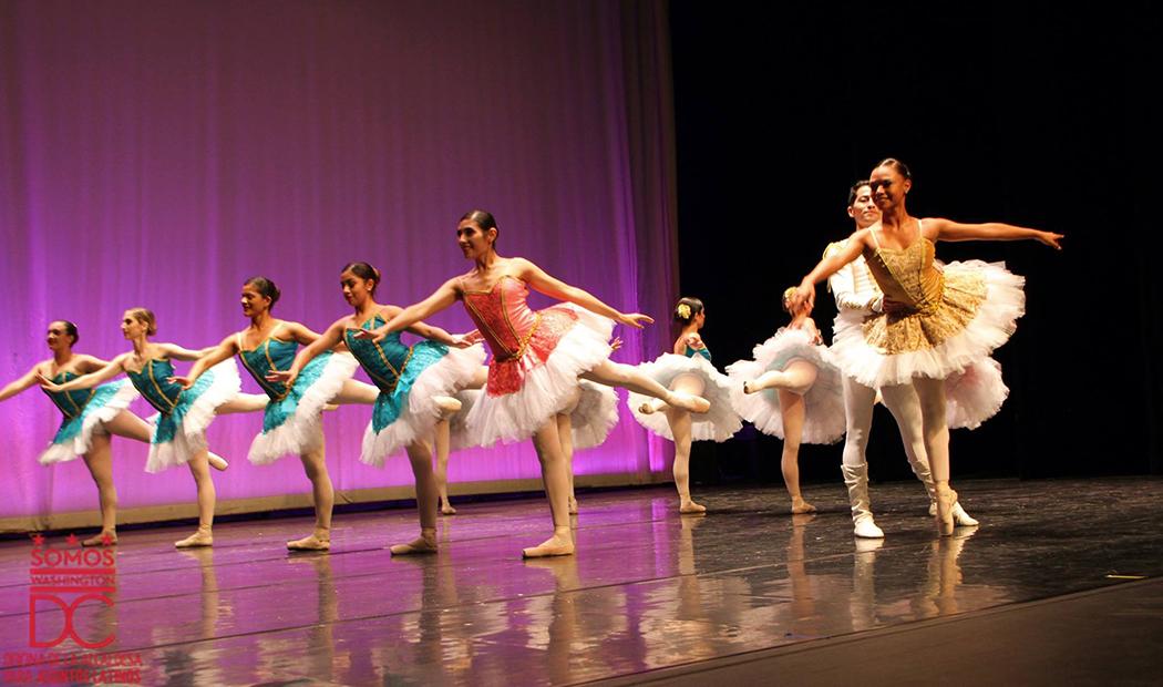 Maravillosa presentación del Ballet de la ciudad de San Salvador