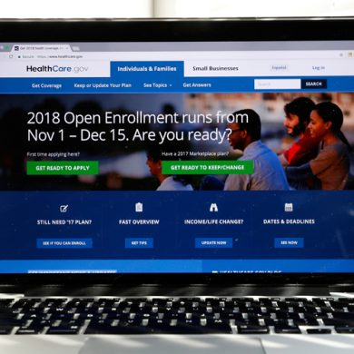 The Healthcare.gov website is seen on a computer screen Wednesday, Oct. 18, 2017, in Washington. If President Donald Trump succeeds in shutting down a major ÒObamacareÓ subsidy, it would have the unintended consequence of making basic health insurance available to more people for free, and making upper-tier plans more affordable. The unexpected assessment comes from consultants, policy experts, and state officials trying to discern the potential fallout from a Washington health care debate thatÕs becoming harder to follow.(AP Photo/Alex Brandon)