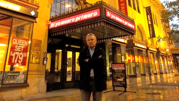 "El documental ""Si yo muero primero"" en Teatro Gala"