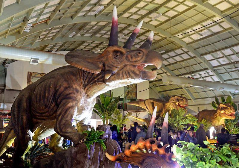Jurassic Quest llegan a Baltimore, MD