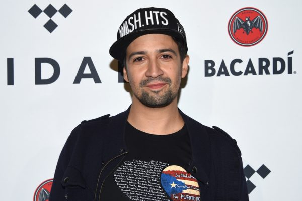 Lin-Manuel Miranda arrives at the TIDAL X: Brooklyn 3rd annual Benefit Concert at Barclays Center on Tuesday, Oct. 17, 2017, in New York. (Photo by Evan Agostini/Invision/AP)