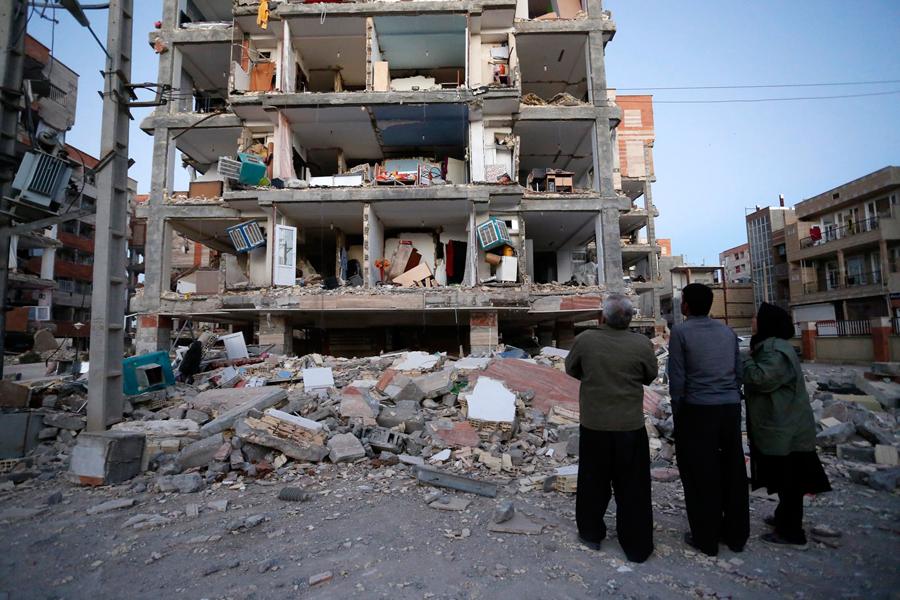Sismo de magnitud 7,3 en Irán e Irak deja más de 400 muertos