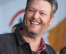 FILE - In this Oct. 31, 2017 file photo, Blake Shelton appears on NBC's