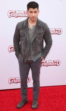 Nick Jonas arrives at the LA Premiere of