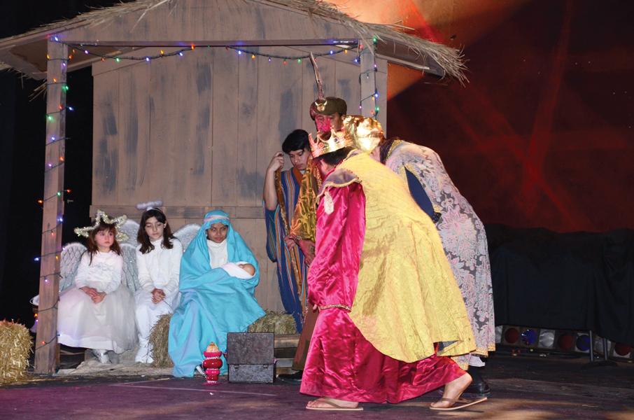 """Teatro GALA celebró la  """"Fiesta de los Tres Reyes Magos"""