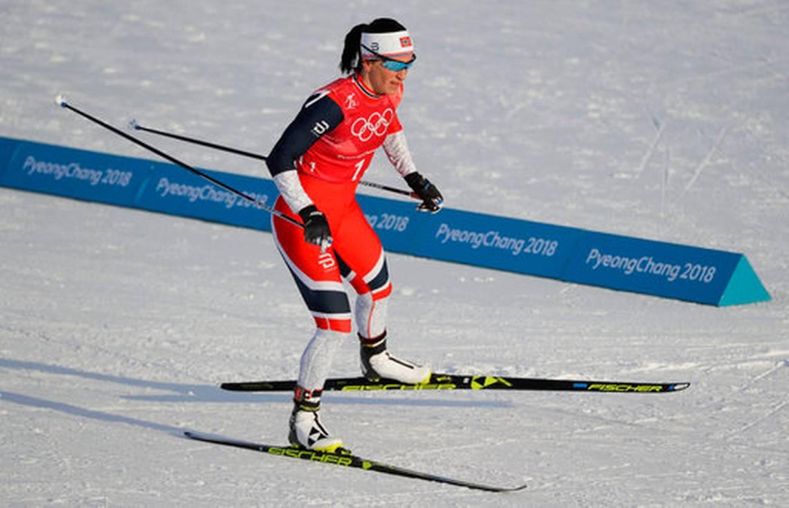 Bjoergen impone record de medallas en Juegos de Invierno