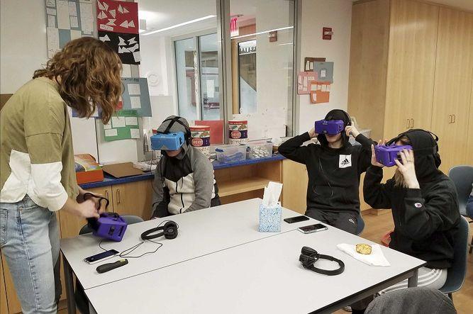 Viajes de realidad virtual reemplazan excursiones escolares