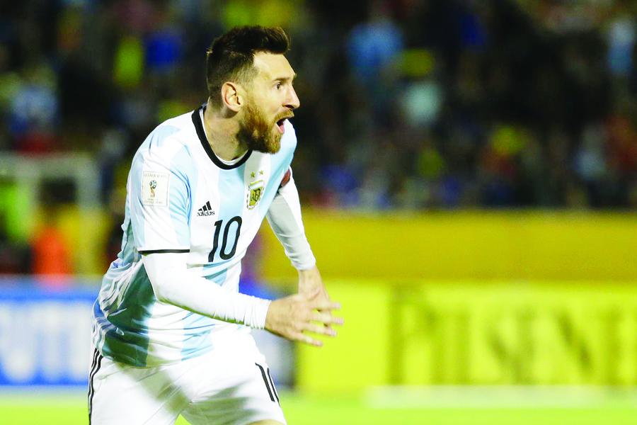 Messi sueña con alzar la Copa del Mundo