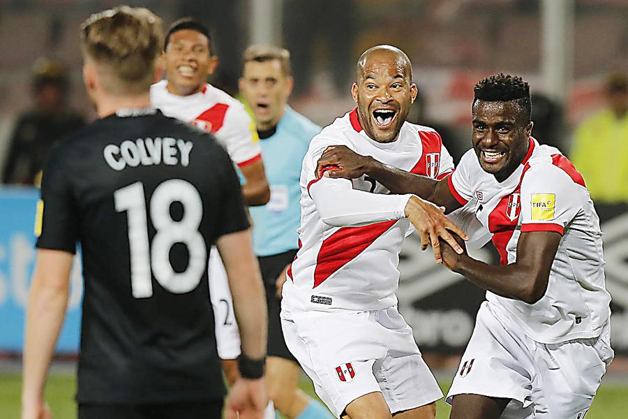Perú jugará contra Islandia en New Jersey el 27 de marzo