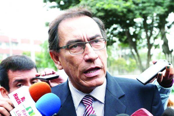 Foto 1-Martín Vizcarra-presidente Perú