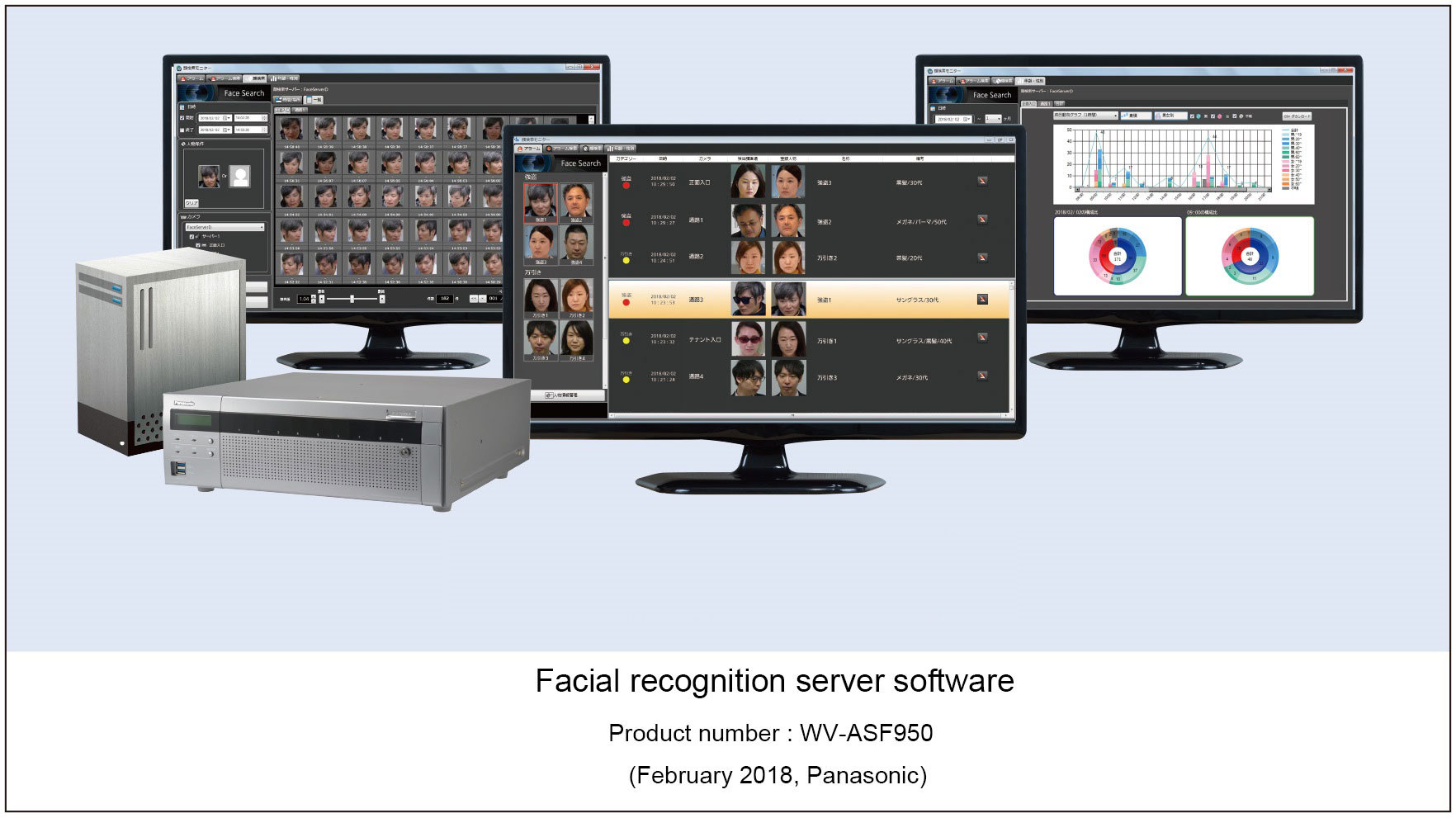 Panasonic lanzará software de servidor de reconocimiento facial