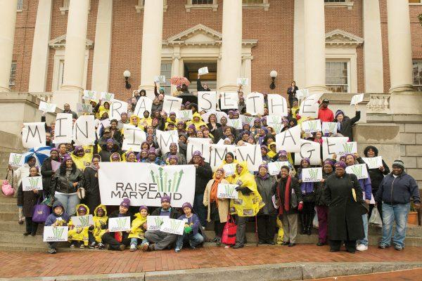 1199 SEIU Lobby Day in Annapolis, MD, on March 18, 2013.  Photo:  Jay Mallin