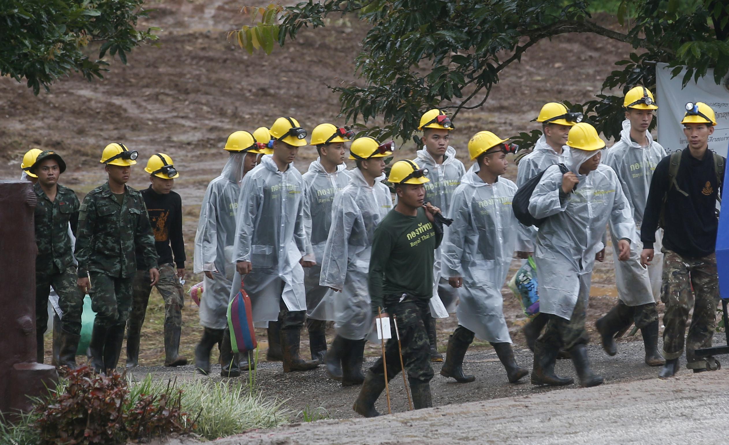 Rescatan a todos los menores y su entrenador en Tailandia
