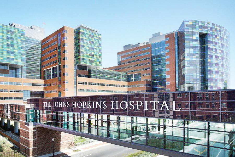 Tres horas de emergencia  en hospital Johns Hopkins