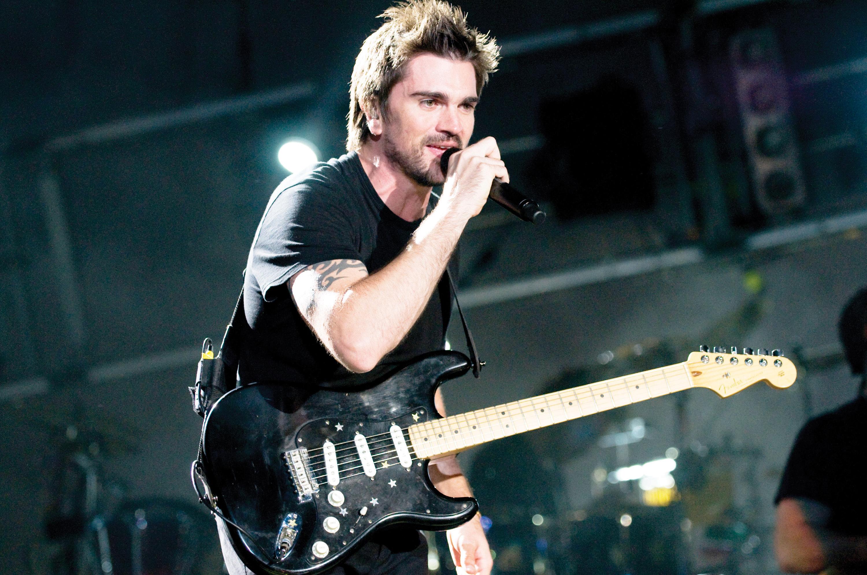 Juanes en concierto  en el  Wolf Trap
