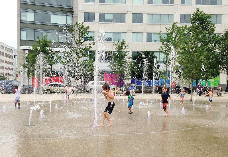 Ola de calor golpea a Washington D.C.