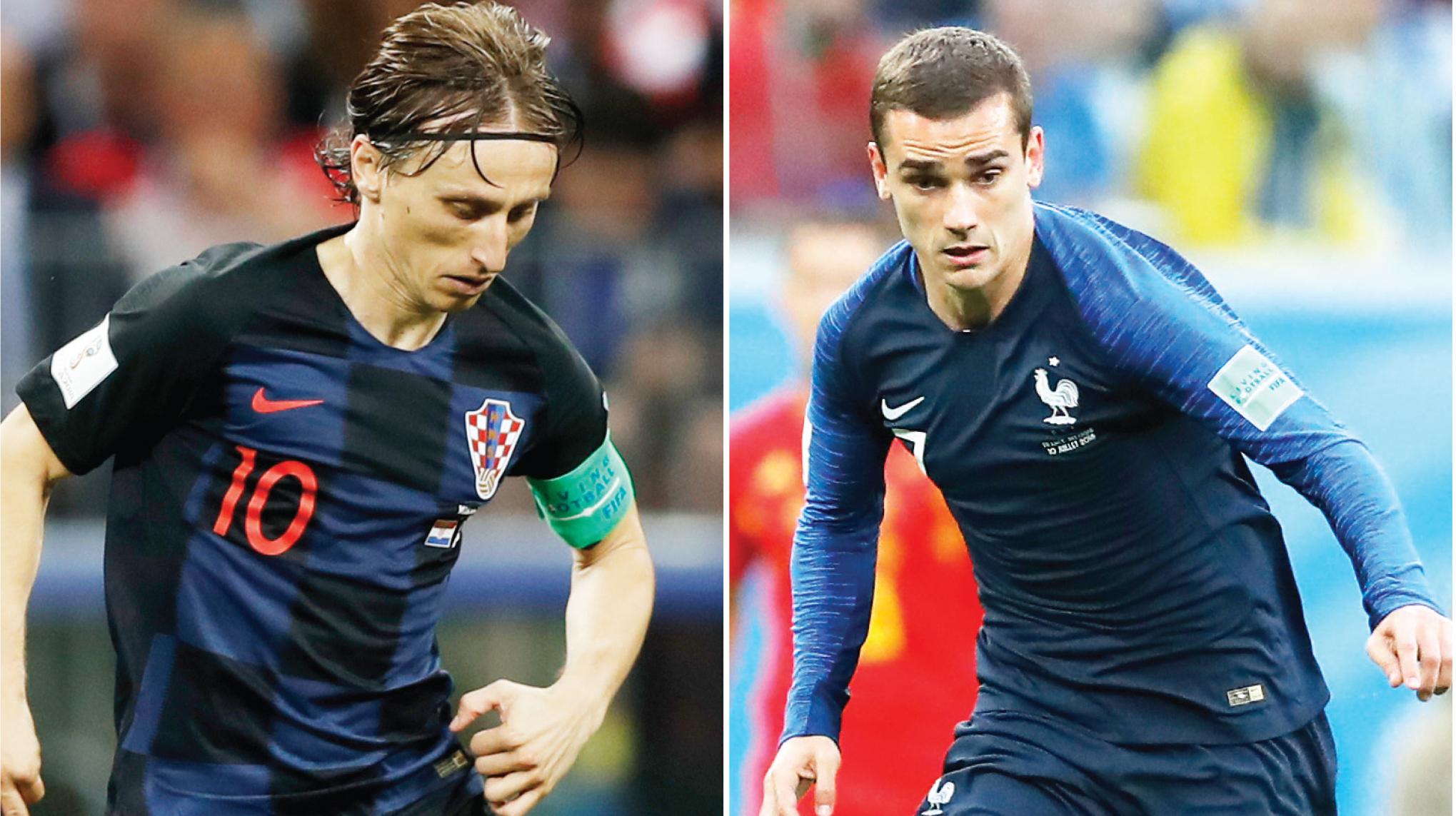 Francia y Croacia quieren levantar la Copa